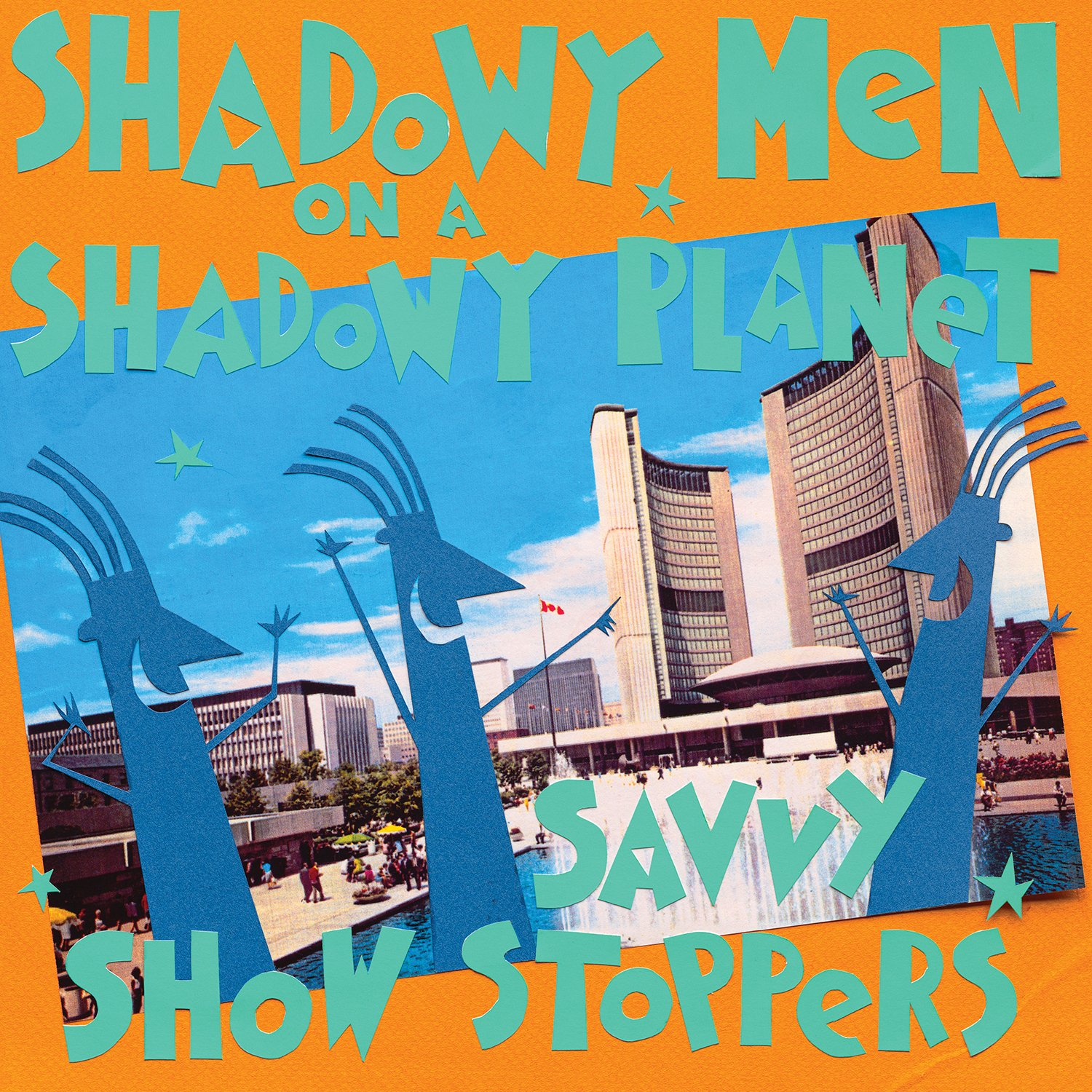Vinilo : Shadowy Men on a Shadowy Planet - Savvy Show Stoppers (Gatefold LP Jacket, Digital Download Card)
