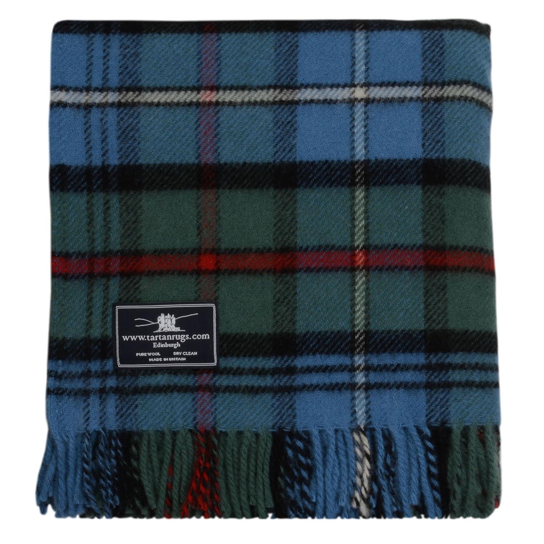 Tweedmill Textiles Hunting Robertson Tartan Schottenmuster Wolldecke