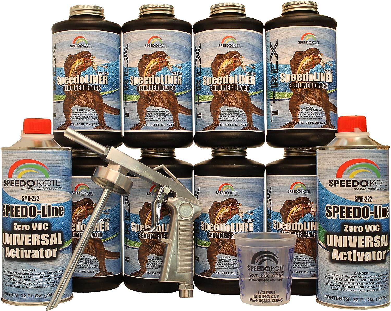 Speedokote T-rex black bed liner
