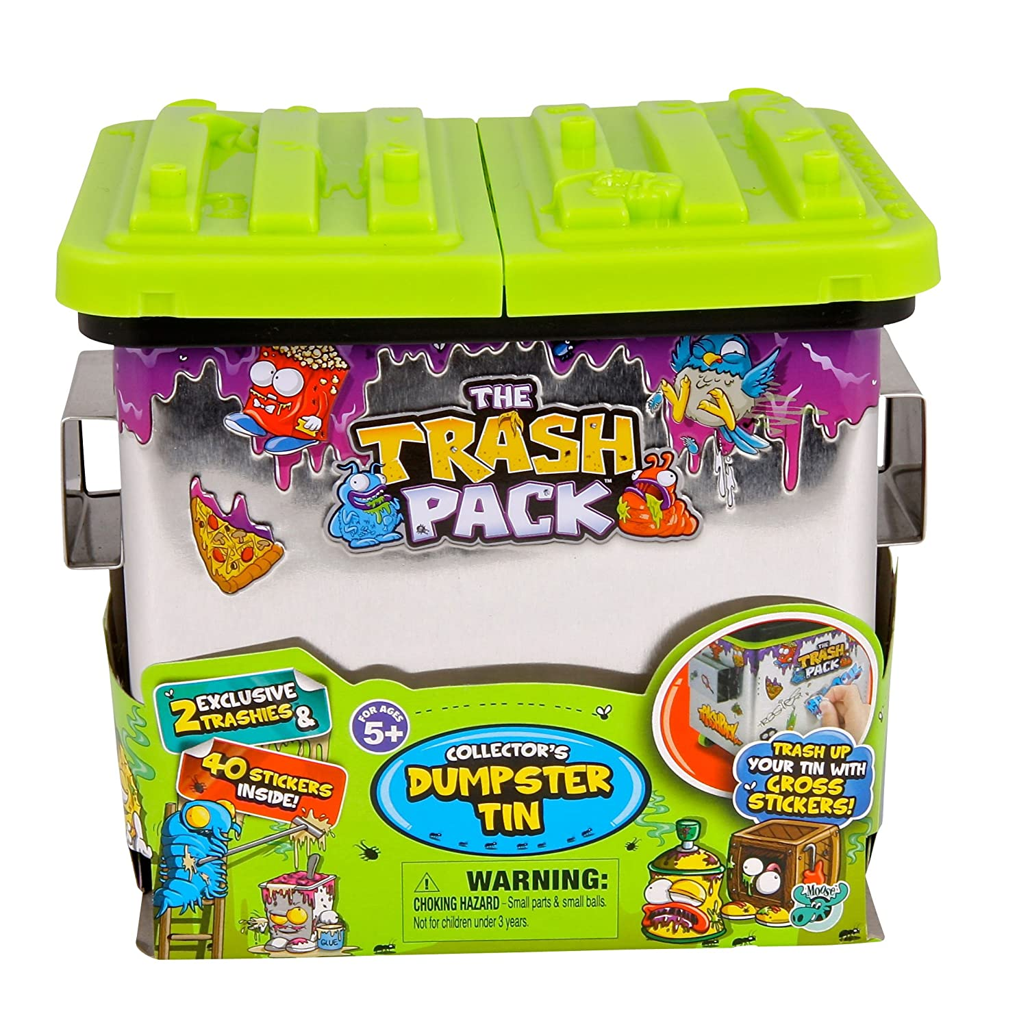 Trash Pack Dumpster Tin by Trash Pack: Amazon.es: Juguetes y ...