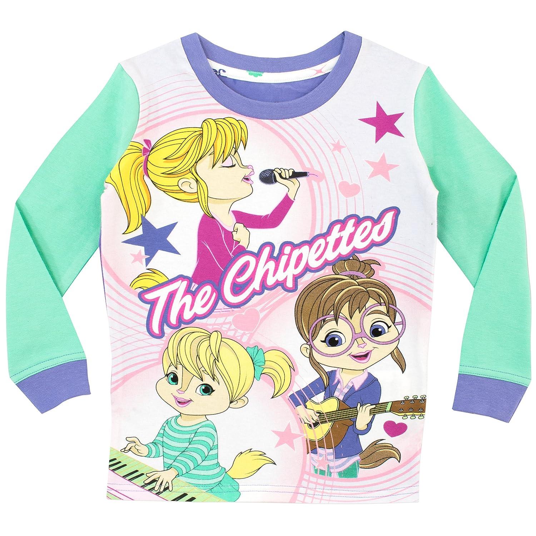 Alvin and The Chipmunks Pijama para niñas Chipettes Ajuste Ceñido: Amazon.es: Ropa y accesorios