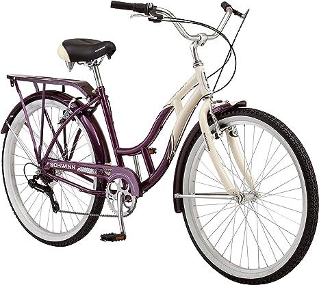 Schwinn Bicicleta Cruiser Sanctuary de 7 velocidades para Mujer ...