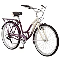 Schwinn Women's Sanctuary 7-Speed Cruiser Bicycle (26-Inch Wheels), Cream