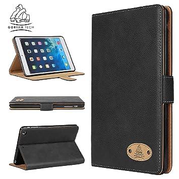 Apple iPad iPad 4 Genuine Luxury Executive Leather Case Gorilla Tech Brand  Smart Protective Designer Cover