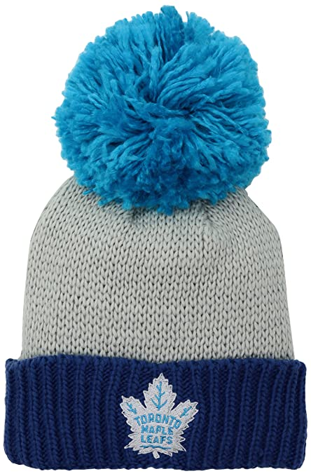 beb61bb55 Amazon.com   NHL Anaheim Ducks Women s SP17 Neon Logo Cuffed Knit ...