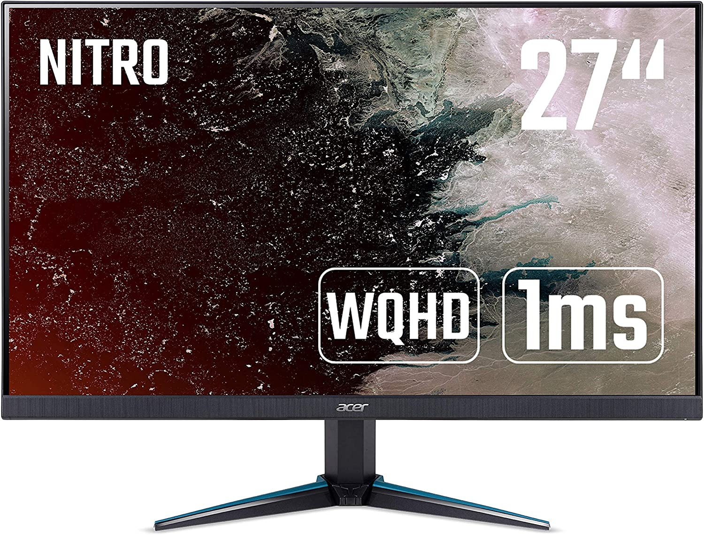 69 cm VGA, 2xHDMI, FHD 1920x1080, 1ms 27 Zoll Acer Nitro RG0 IPS ZeroFrame Monitor Matt Nitro RG270bmiix VRB , 75Hz, 250 Nits, FreeSync