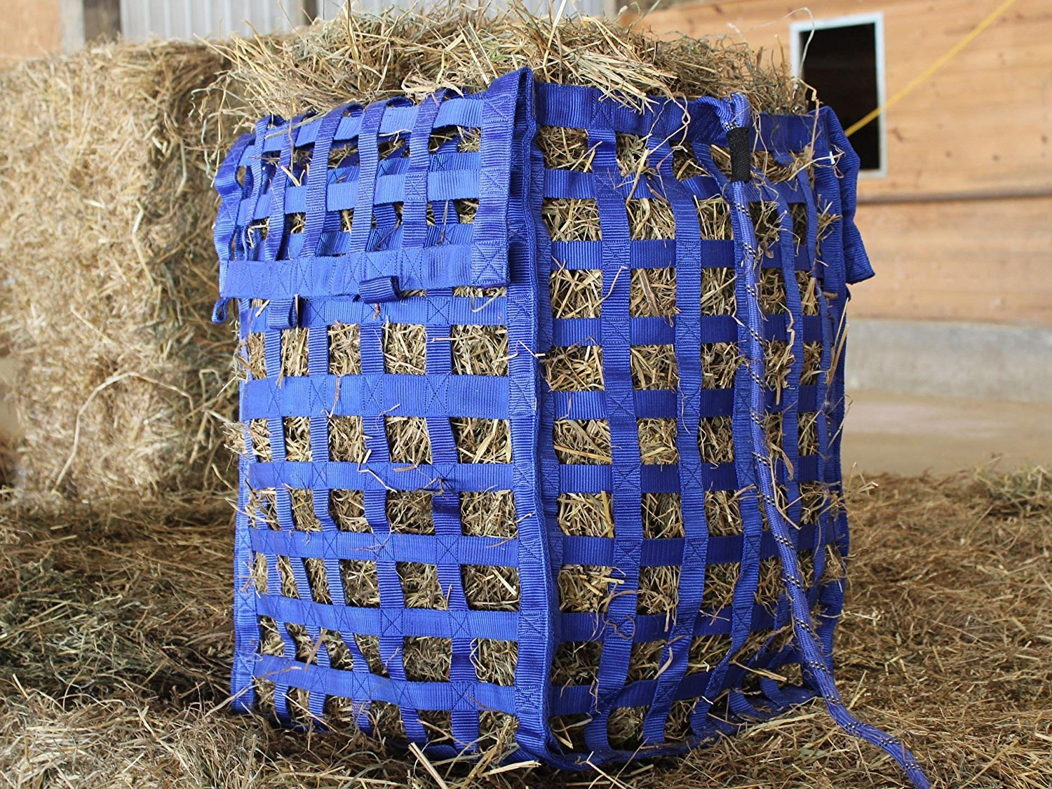 Derby Originals Natural Grazer Slow Feed Hay Bag Patented with Warranty, 18 x 19 x 26, Black 71-7133BK