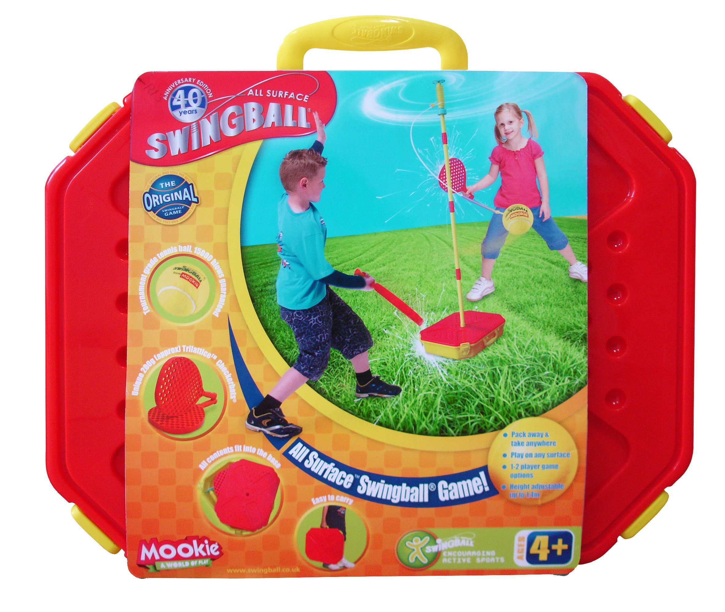 Mookie Classic Swingball Tetherball Set - Portable Tetherball by Mookie Swingball