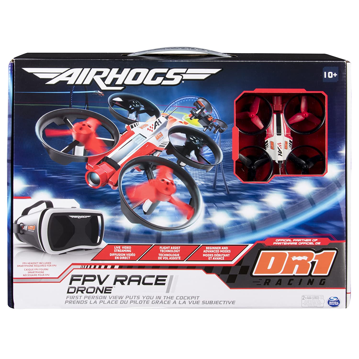 Air Hogs 6037679 - DR1 Official Race Drone: Amazon.es: Juguetes y ...