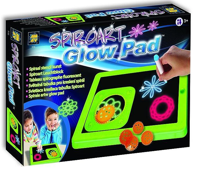 Diamant Toys 5132 Glow Pad Spiro Art: Amazon.es: Juguetes y juegos