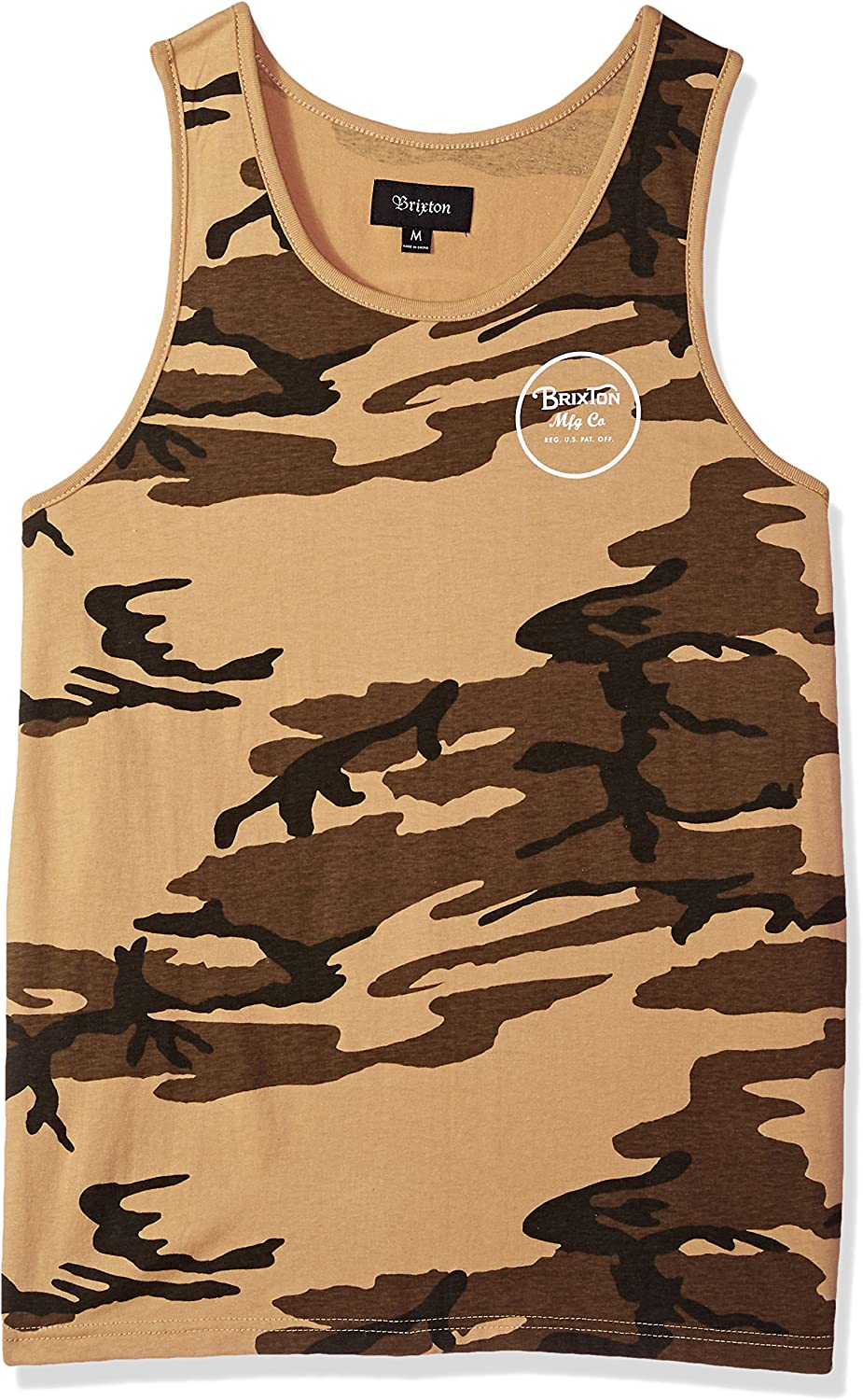 Brixton Men's Wheeler Tailored Fit Tank Top