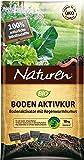 Naturen Bio Bodenaktivkur Natürlicher Bodenaktivator zur Verbesserung der Bodenfruchtbarkeit mit nährstoffreichem Regenwurmhumus, für bis zu 200 m², 10 kg