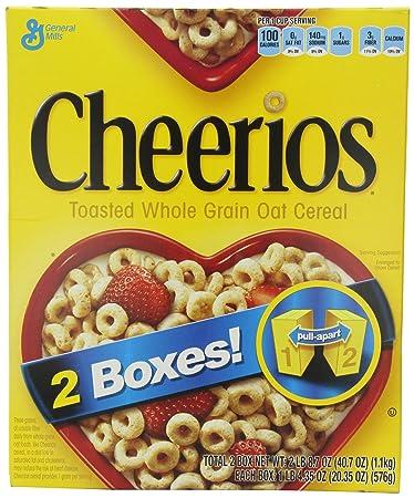 Amazon general mills cheerios toasted whole grain oat cereal general mills cheerios toasted whole grain oat cereal 2035 oz 2 count ccuart Gallery