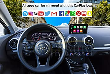 CarPlay Navigation Mirroring Interface Audi A3 8V 2013-17 GPS MMI