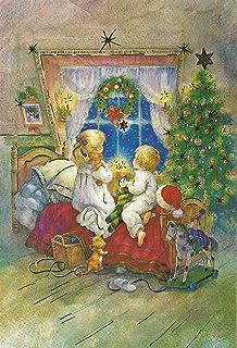 Nostalgische Weihnachtskarten Kostenlos.Weihnachtskarten Set 10 Karten Weihnachten Nostalgie Retro Vintage