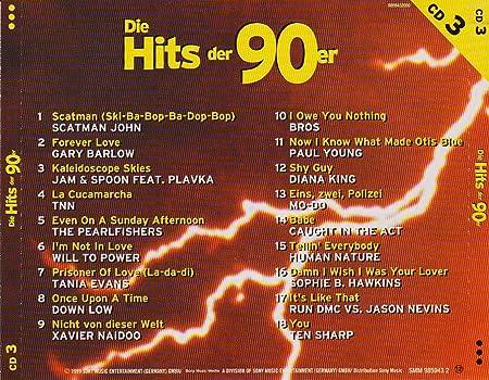 Die Hits Der 90er Cd 3 Cd 1999smm 985943 2000 Ean