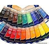 Feine ACRYLFARBE 24 Tuben je 60 ml, original MAGI Farben, MEGA-FARBSET Acrylfarben