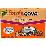 Goya Foods Sazon Coriander & Annatto, 6.33 Ounce