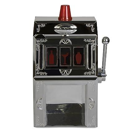 Grinscard One Armed Bandit dispensador de Bebidas en diseño – silbern Aprox. 1300 ML