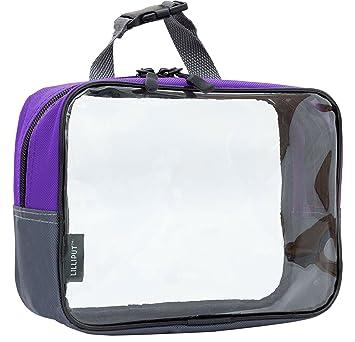 99e35395e815 Amazon.com   Clear Travel Toiletry Bag