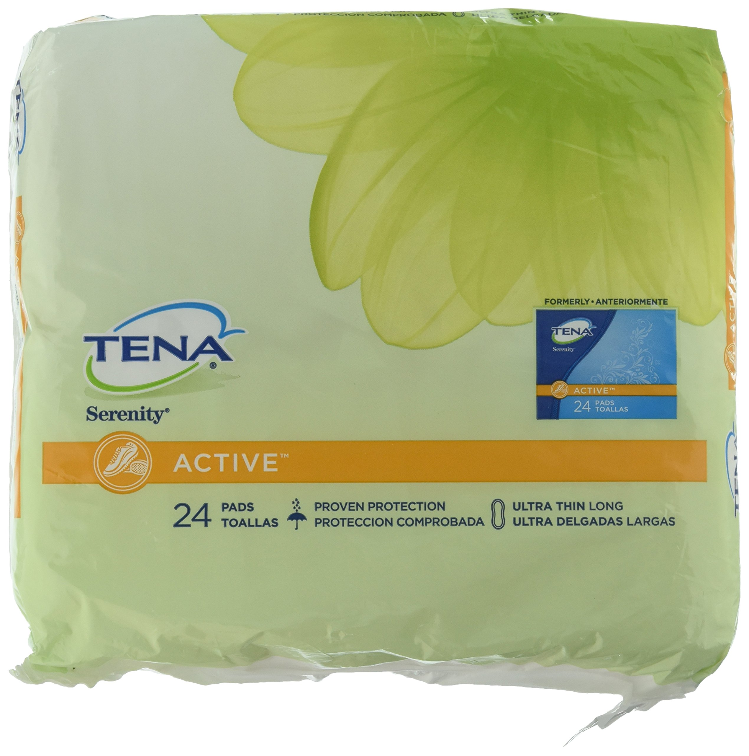 Amazon.com: TENA Intimates Light Ultra Thin Pads Long - Case of 144: Health & Personal Care