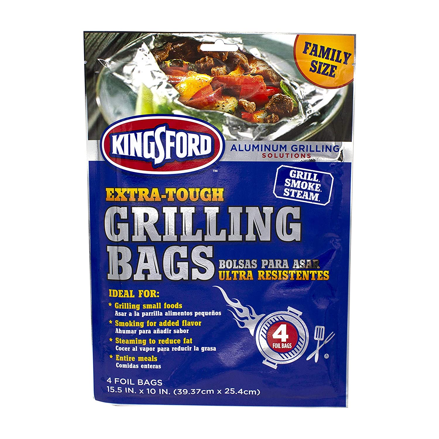 Oven and Grills Easy Use 8 Pack Sealapack Foil Food Bags For BBQ
