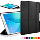 Forefront Cases® Samsung Galaxy Tab E 9.6 T560 (July 2015) Folding Case Cover Sleeve – Ultra Slim Lightweight with full device protection (BLACK)