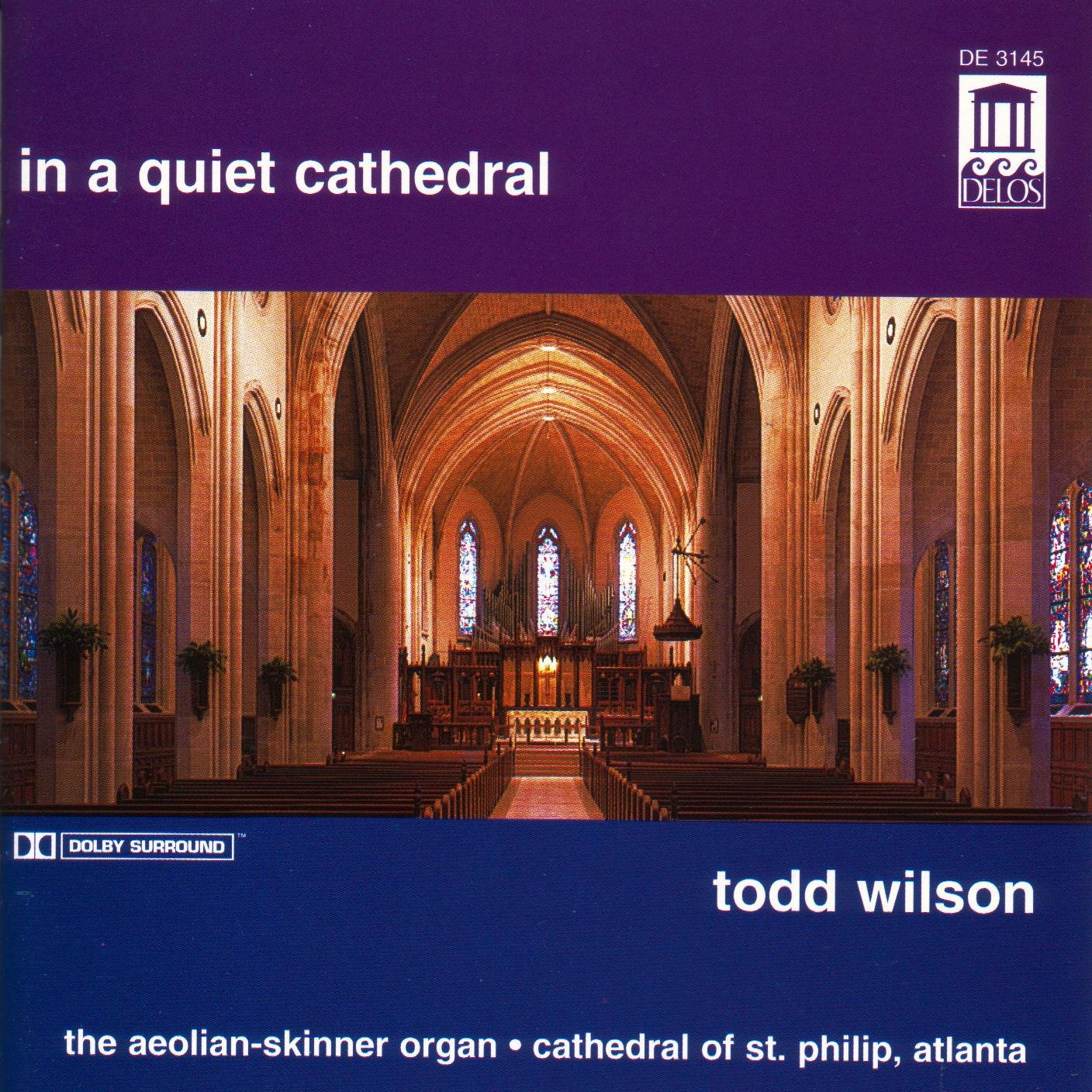 In a Quiet Cathedral by Unknown