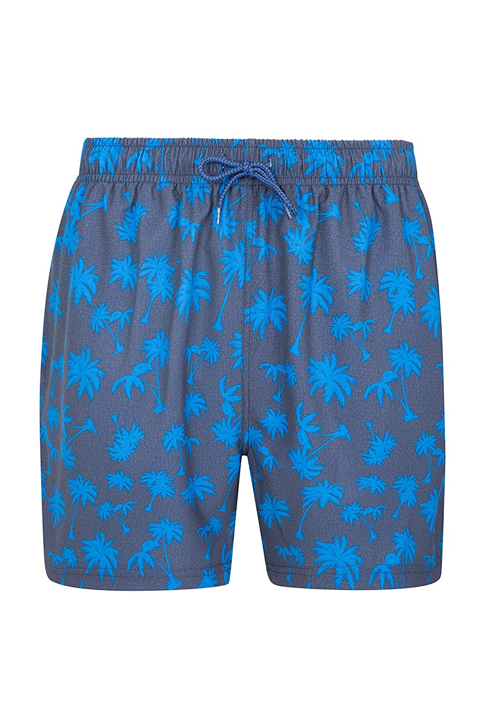 Mountain Warehouse Aruba Mens Swim Shorts -Printed Summer Beach Trunks Green X-Small 025832025002