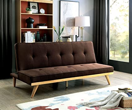 Fantastic Amazon Com Williams Home Furnishing Lyra Futon Sofa Brown Uwap Interior Chair Design Uwaporg