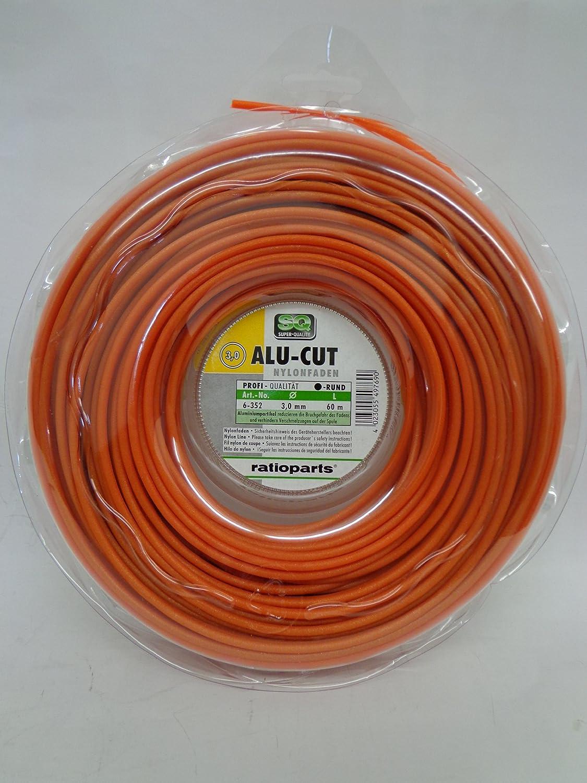 130 m Filo in Nylon 2,0 mm Alu-Cut Colore: Arancione Ratioparts