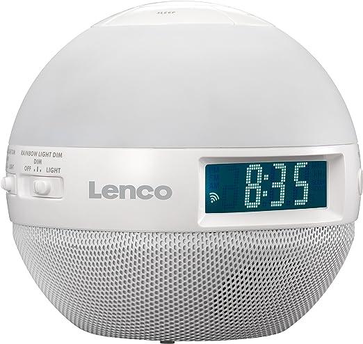 Lenco Crw 1 Wellness Uhren Radio Am Fm Analog Tuner Weiß Heimkino Tv Video