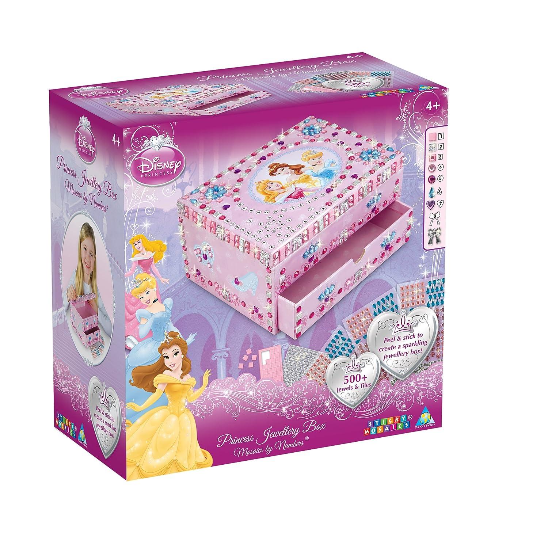 Amazoncom Orb Factory Sticky Mosaics Disney Princess Jewellery