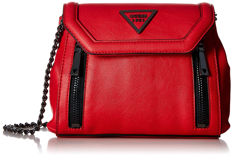 GUESS Urban Sport Savoy Crossbody Flap red  Handbags  Amazon.com 13ba6f7ead26e