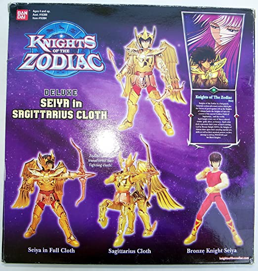 KNIGHTS OF THE ZODIAC DELUXE SEIYA IN SAGITTARIUS CLOTH / Knights Of
