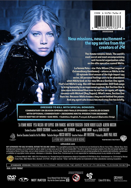 Amazon com: La Femme Nikita: Season 3: Peta Wilson, Roy