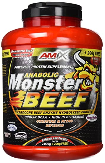 Amazon.com: Amix Anabolic Monster BEEF 172 90 Percent Forest Fruits ...