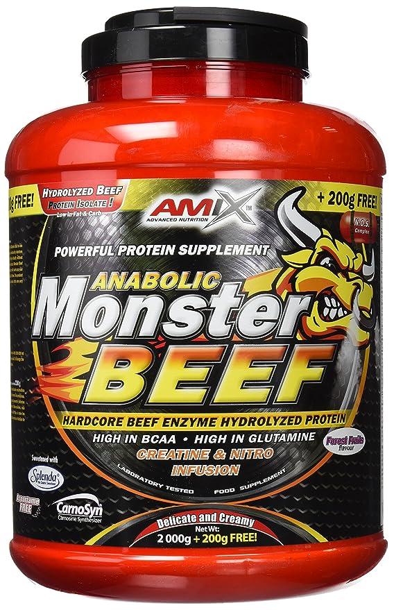 Amix Proteína de Aislado de Carne Vacuna - 2200 gr: Amazon.es: Salud y cuidado personal