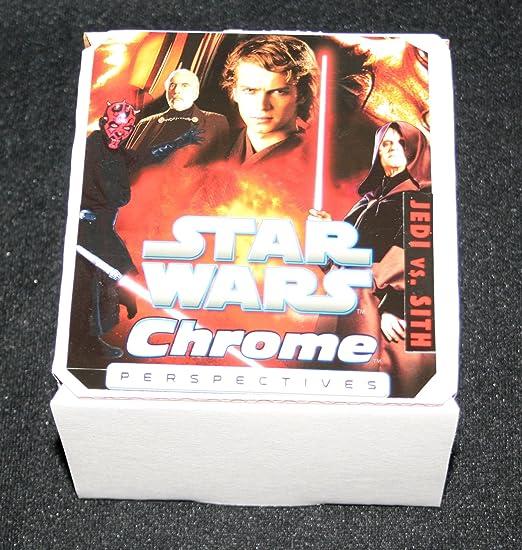 2015 Star Wars Chrome Perspectives Jedi vs Sith Training 10 Card Insert Set