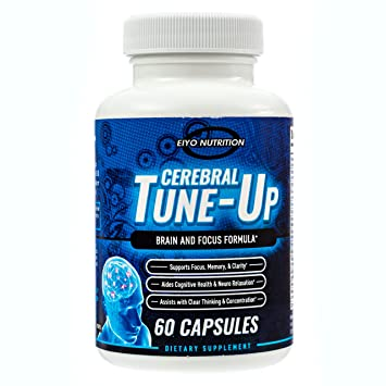 Brain Supplements - Cerebral Tune-Up, DMAE Supplement, Brain Booster Supplements, Memory Pills,...