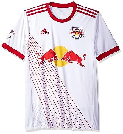 97668ba8b37 MLS New York Red Bulls Adult Men Replica Wordmark s Jersey