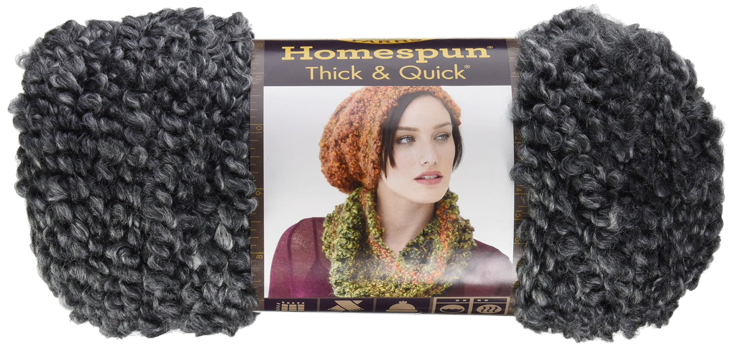 Lion Brand Yarn 600-612 Outlander Kit -The Way Out Captivating Capelet (Crochet)