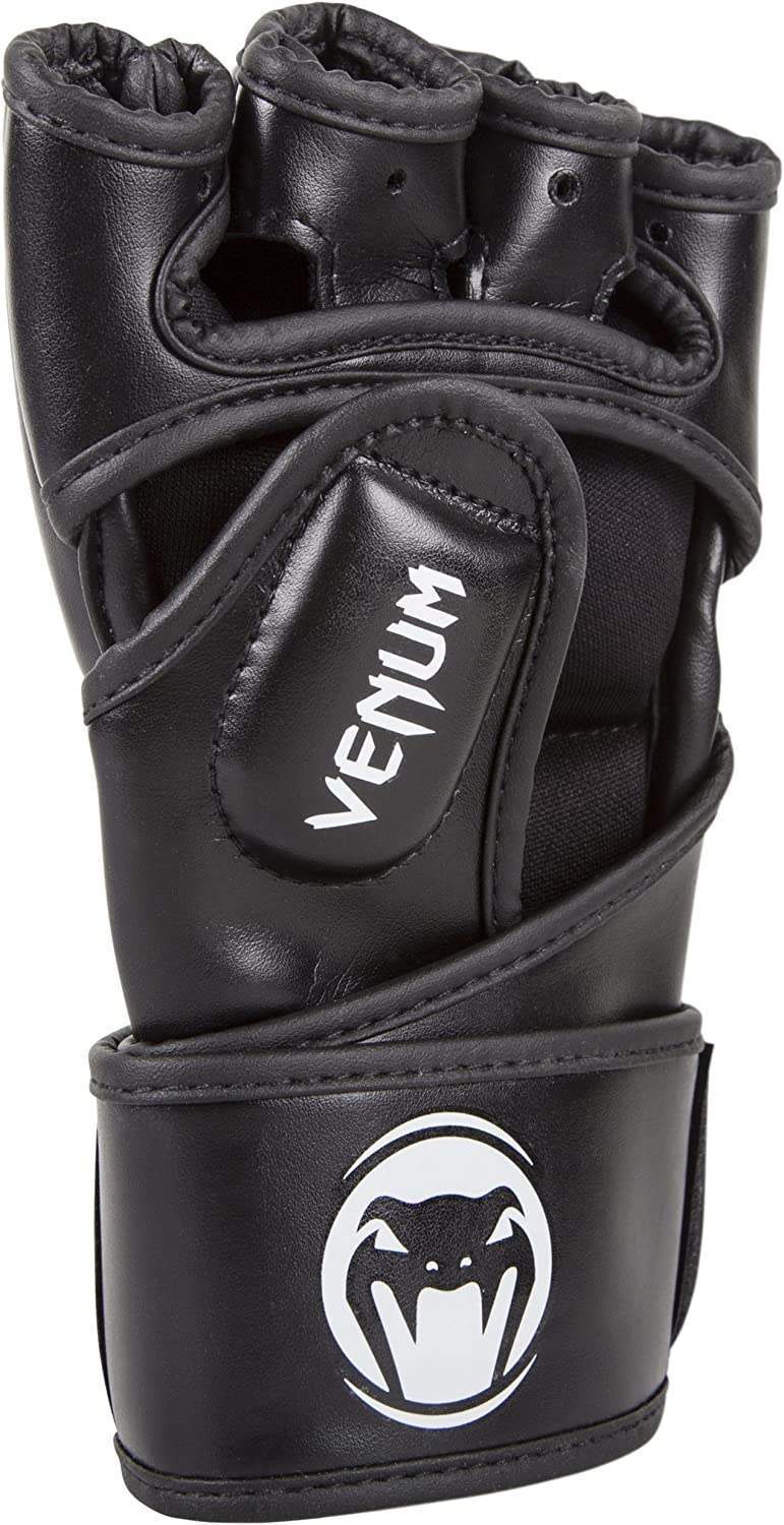 Venum Pro MMA Black Impact Fight Grappling Gloves