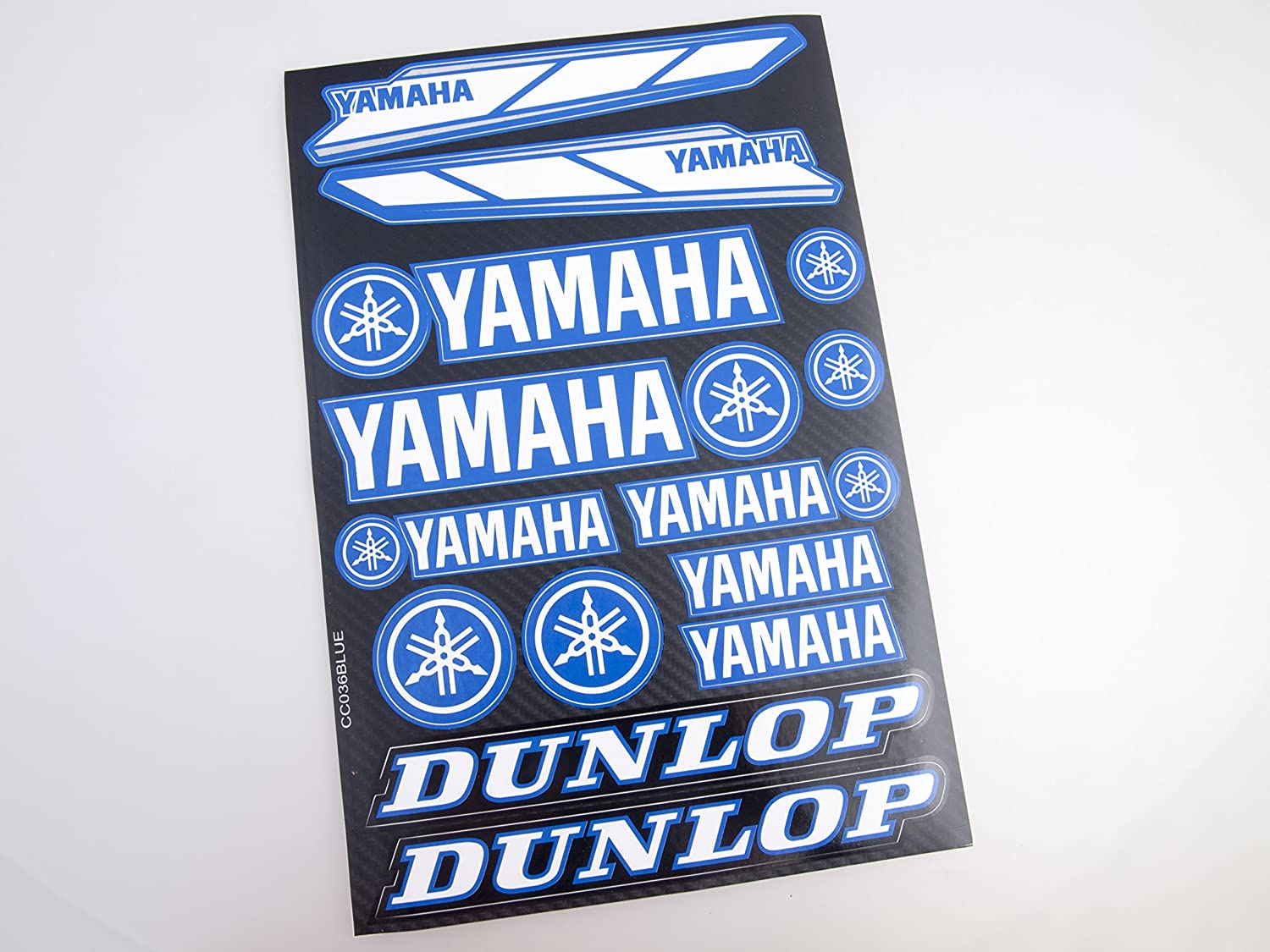 Yamaha Stickers Decals 30x20cm vinyl with extra protection on top (Blue) Life Decor CC019