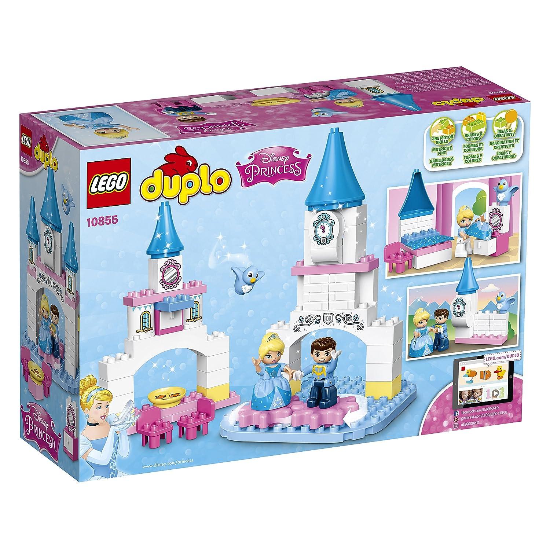 Princess carriage toddler bed - Amazon Com Lego Duplo L Disney Princess Cinderella S Magical Castle 10855 Large Building Block Disney Toy Toys Games