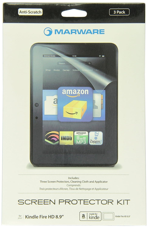 Marware Pellicola trasparente di protezione schermo per Kindle Fire HD 8, 9 9 KISP1X