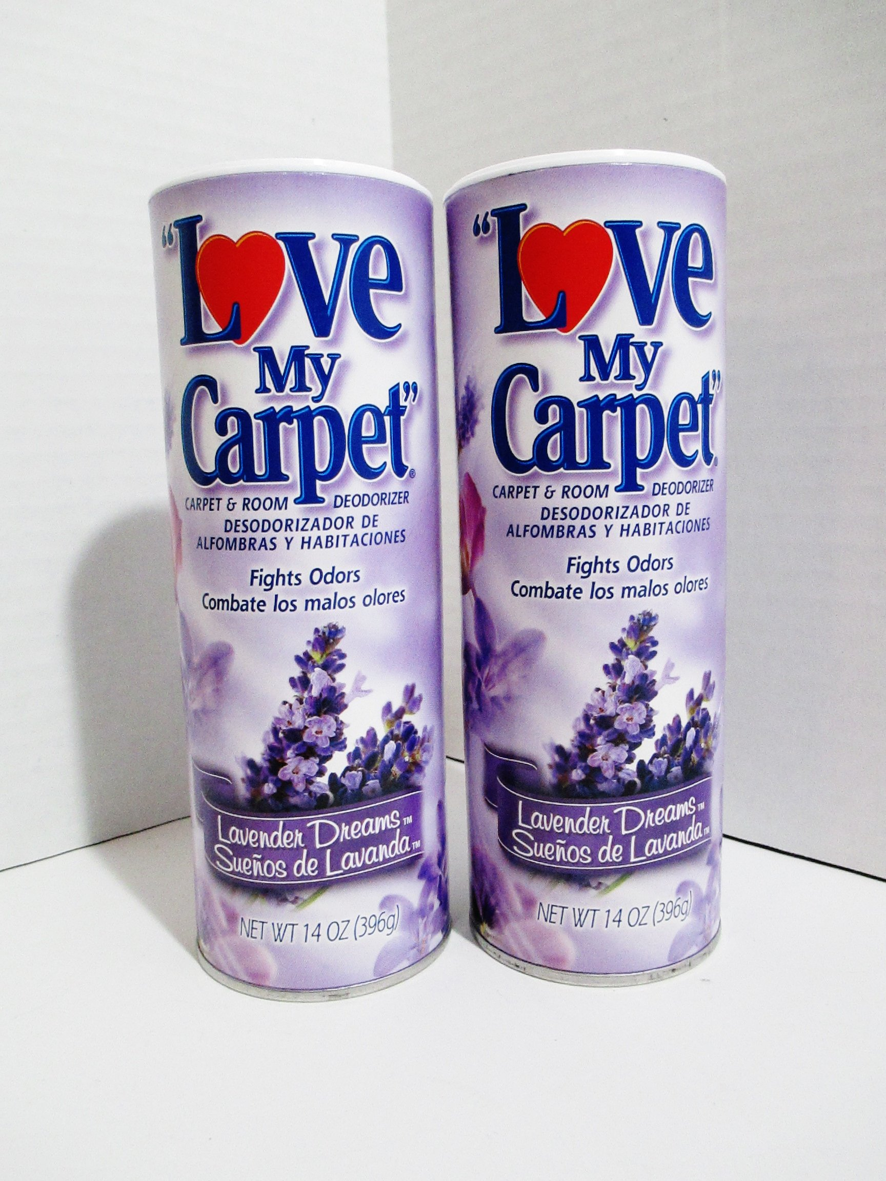 Love My Carpet - 2 pack - Lavender Dreams Carpet & Room Deodorizer