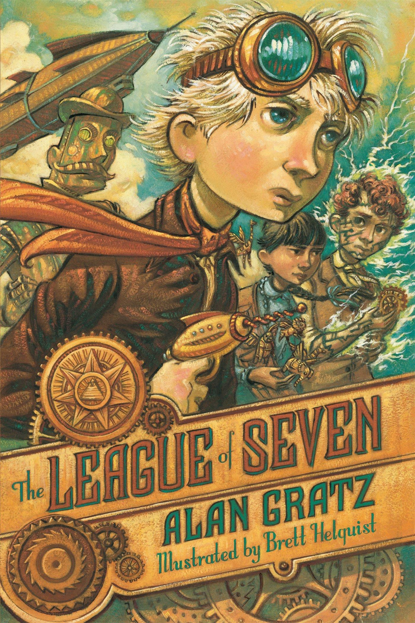Amazon: The League Of Seven (9780765338259): Alan Gratz, Brett  Helquist: Books