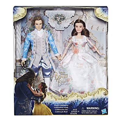 Hasbro Disney Beauty and The Beast Royal Celebration Princess Doll ~ Belle & Prince: Toys & Games