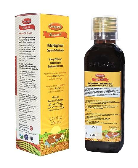 CEREGUMIL ORIGINAL Suplemento Nutricional c/ Vitamina Tiamina B1 Vitamina B6 Cereales y Legumbres Vitaminas y
